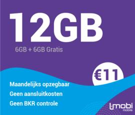 Sim only 12GB