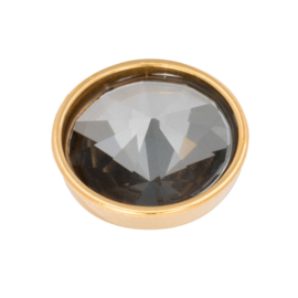 Top Part Pyramid Black Diamond Goud