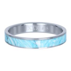 iXXXi Vulring 4 mm Blue Paradise Zilver