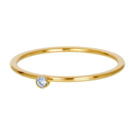 iXXXi Vulring 1 mm Light Sapphire 1 Stone Crystal Goud