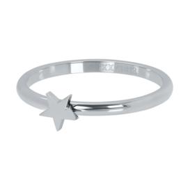 iXXXi Vulring 2 mm Symbol Star Zilver