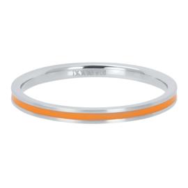 iXXXi Vulring 2 mm Line Orange Mat Zilver