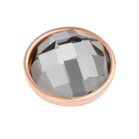 Top Part Facet Black Diamond Rosé