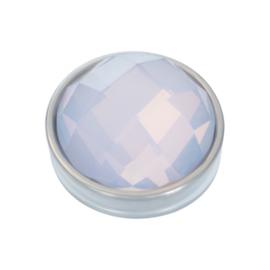 Top Part Facet Opal Zilver