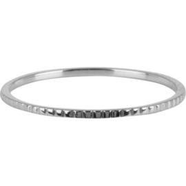 Charmin*s Ring Basics Bricks Shiny Steel R739