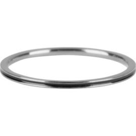 Charmin*s Petite Shiny Steel Black Enamel R698