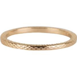 Charmin*s Ring Gols 'Snake' R326