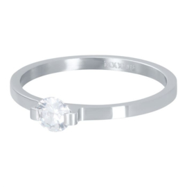 iXXXi Vulring 2 mm Mini Glamour Stone Zilver