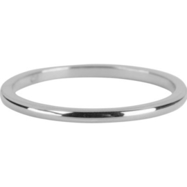Charmin*s Ring Round Finished Basic Shiny Steel R634