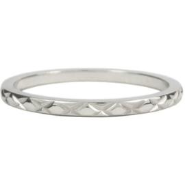Charmin*s Ring Steel 'Cross' R307