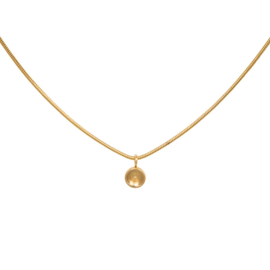 Necklace Snake Top Part Base 40 cm Goud