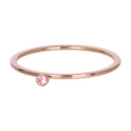 iXXXi Vulring 1 mm Pink 1 Stone Crystal Rosé