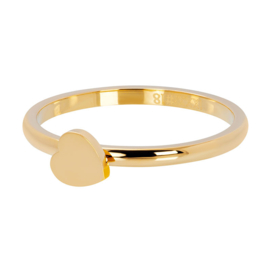 iXXXi Vulring 2 mm Symbol Heart Goud