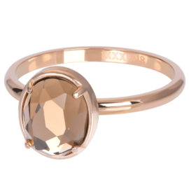 iXXXi Vulring 2 mm Glam Oval Champagne Rosé