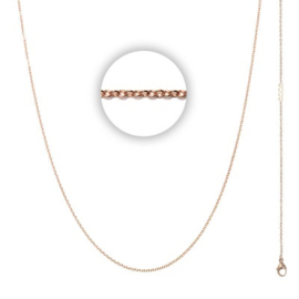 Collier 1 mm With Logo Rosé