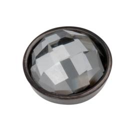 Top Part Facet Black Diamond Zwart