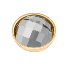 Top Part Facet Black Diamond Goud