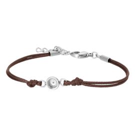 iXXXi Armband Wax Cord Top Part Base Brown