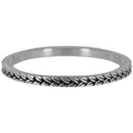 Charmin*s Ring Steel 'Shiny Braids' R447
