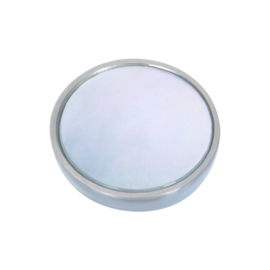 Top Part White Shell Zilver