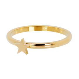 iXXXi Vulring 2 mm Symbol Star Goud
