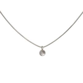 Necklace Snake Top Part Base 40 cm Zilver