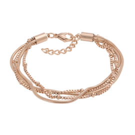 iXXXi Armband Snake Knot Rosé