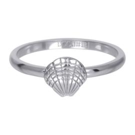 iXXXi Vulring 2 mm Symbol Sea Shell - Zilver