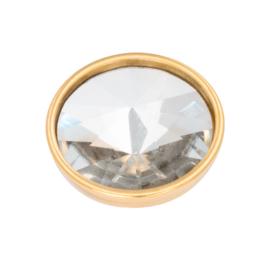 Top Part Pyramid Crystal Goud