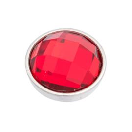 Top Part Facet Red Zilver