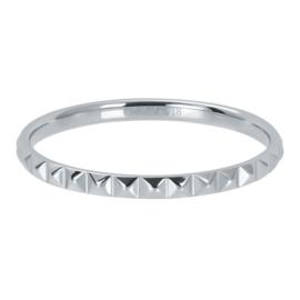 iXXXi Vulring 2 mm Pyramid Zilver