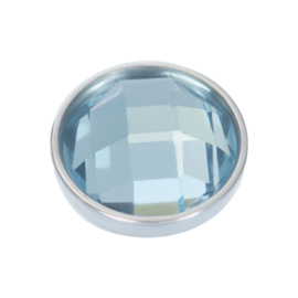 Top Part Light Sapphire Stone Zilver