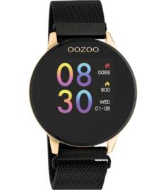 OOZOO Smartwatch Q00118 Black/Rosé