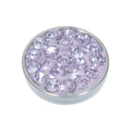 Top Part Violet Stone Zilver