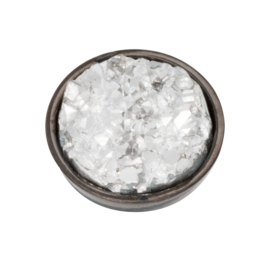 Top Part Drusy Crystal Zwart