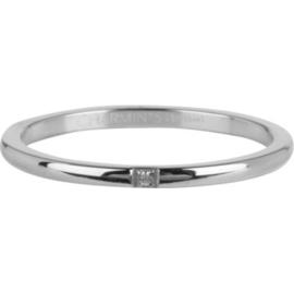 Charmin*s Ring Precious Shiny Steel R743
