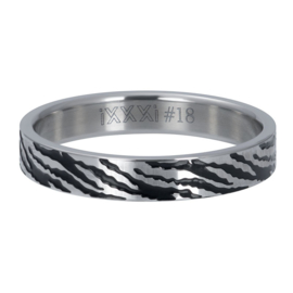 iXXXi Vulring 4 mm Zebra Zilver