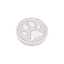 Top Part Dog Foot Zilver