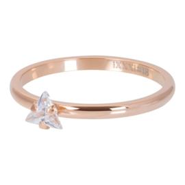 iXXXi Vulring 2 mm Triangle Crystal Stone Rosé