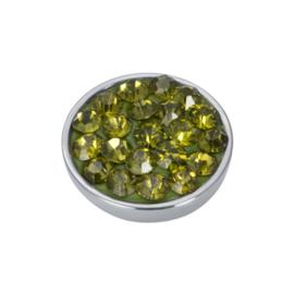 Top Part Olivina Stone  Zilver