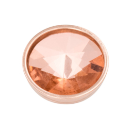 Top Part Pyramid Crystal Champagne Rosé