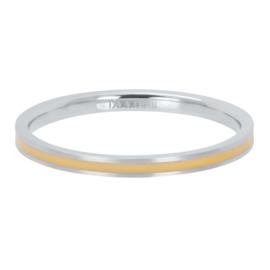 iXXXi Vulring 2 mm Line Yellow Mat Zilver