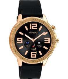 OOZOO Smartwatch Q00303 Black/Rosé