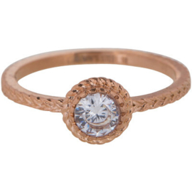 Charmin*s Ring Rosé 'Steel Iconic' R437