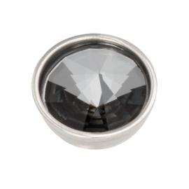 Top Part Pyramid Black Diamond Zilver