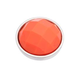 Top Part Facet Orange Zilver