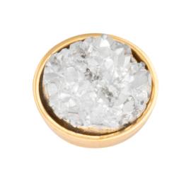 Top Part Drusy Crystal Goud