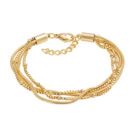iXXXi Armband Snake Knot Goud