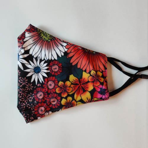 Mondkapje Colourful Flowers