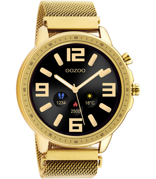 OOZOO Smartwatch Q00306 Gold/Gold